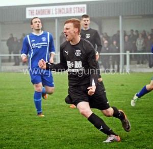 Colin Sinclair scores from the penalty spot